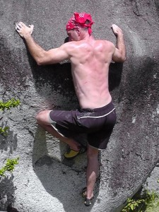 Bouldering in Vieques