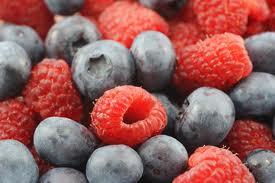 Blueberry Raspberry Whey Protein Shake