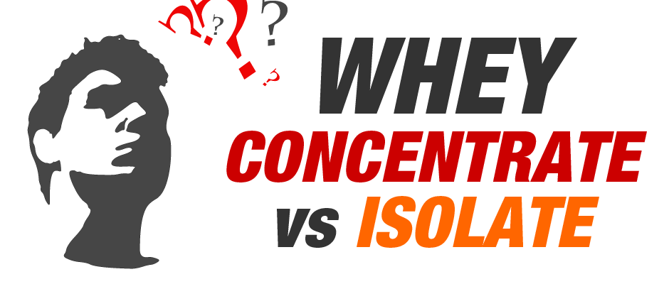 concentrate vs isolate