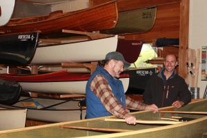 Mike and Canoe Carl