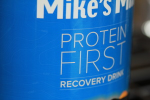 Protein First Recovery Drink for strength training