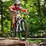 Caleb biking